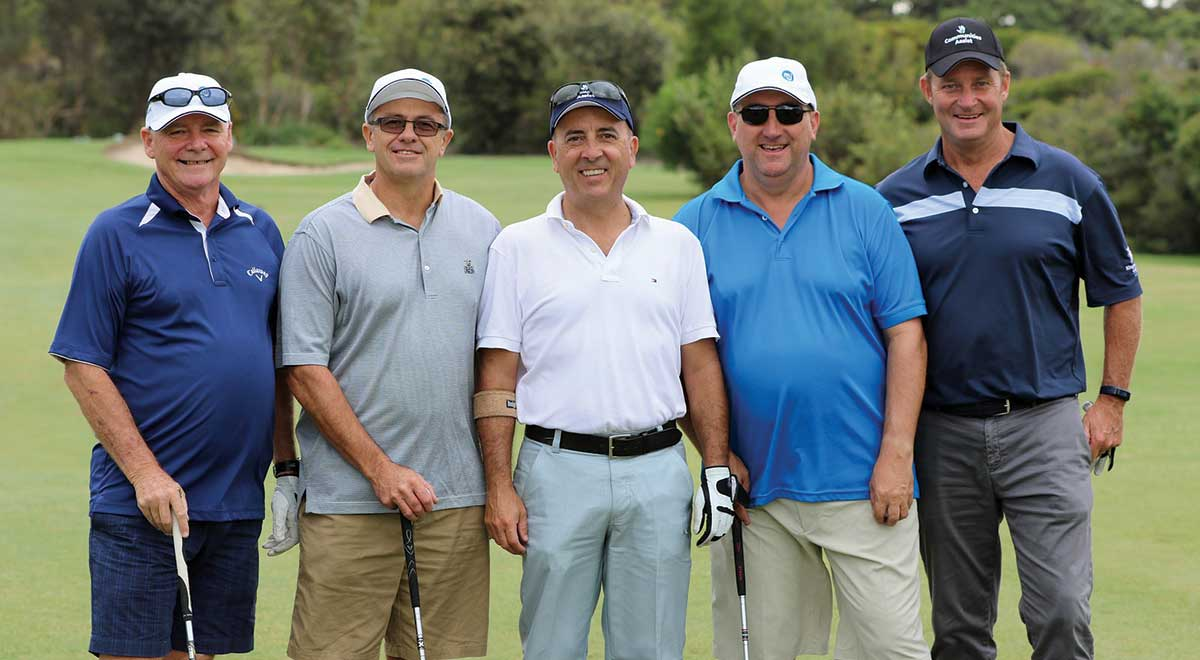 charity golf day - emjay insurance brokers - nsw